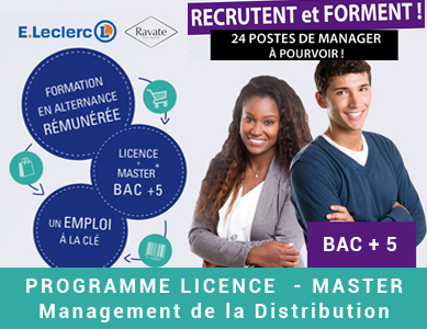 Licence Management de la Distribution IAE IMMD