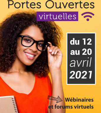 Portes Ouvertes Virtuelles | Du 12 au 20 avril